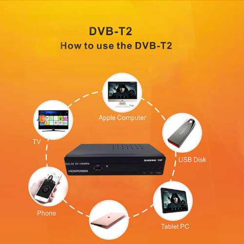 1080P full HD DVB-T2 FREE TO AIR SOFTWARE UPDATE SUNSHINE TOP WHOLESALE