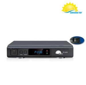 Receptor de satélite digital alto Sunplus 1506A, buen precio Full HD Decodificador de aire libre