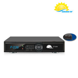 Internet HD Fully comply with DVB-S2 Sunplus 1506F Set Top Box