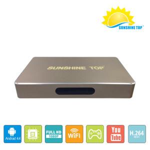 Sunshine top 4K Smart Android 6.0 OS Mini PC TV box Digital Display HDMI Mali-400 5-Core GPU  RK3229 quad-core cortex-A7 Ultra HD With Wifi 2.4GHz
