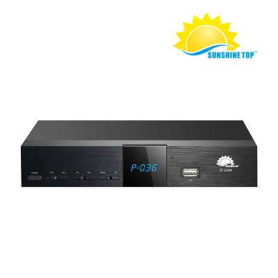 SD DVB-S جهاز استقبال الأقمار الصناعية بث الفيديو الرقمي Montage5016 Set-Up Box