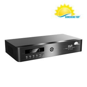 عالية الجودة الجديدة FTA HD فك DVB S2 مجموعة أعلى مربع