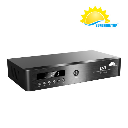 Decodificador de alta calidad nuevo FTA HD DVB S2 Set Top Box