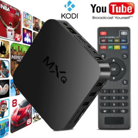 Amlogic S905W Quad Core Sunshine Mini Boîte TV 2G / 16G Bluetooth4.0 en option Smart TV Android Box