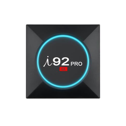 Caja de TV Octa core DDR 2G Flash 16G Andriod 7.1 Caja de TV OTT opcional Bluetooth de Amlogic S912 4K