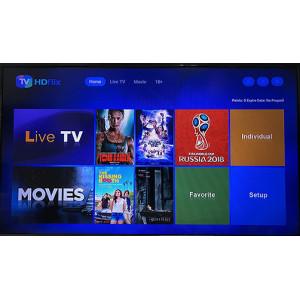 Uma semana de promoção gratuita para o nosso IPTV-HDflix, você pode desfrutar de canais em todo o mundo, filmes online, conteúdo adulto livremente.