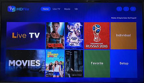 Une semaine de promotion gratuite pour notre IPTV-HDflix, vous pouvez profiter des chaînes mondiales, des films en ligne, des contenus pour adultes en toute liberté.
