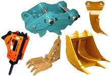 High quality Hydraulic or Mechanical Excavator Grapple Metal / Wood / Log Grab for caterpillar,komatsu etc.