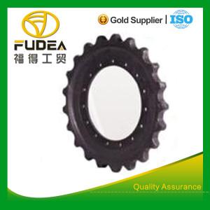 Segmento de bulldozer / segmento de roda dentada do dozer / grupo de rodas dentadas