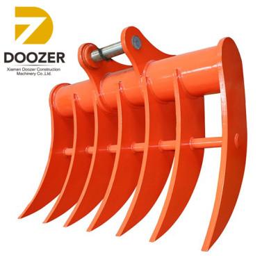 Mini excavator rake/ Excavator Bucket Rake/ excavator Digger Rake Bucket