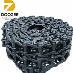 daewoo solar s130lc-vtrack chain assembly doosan solar S140lc-v excavator steel track link assembly