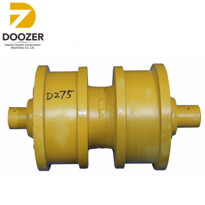D275A-2 track double flange roller,17M-30-00230 track roller for bulldozer