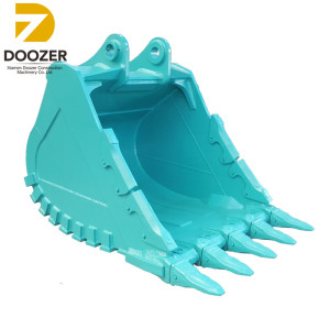kobelco excavator bucket with teeth