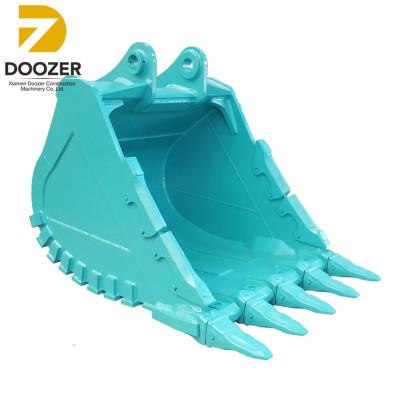 kobelco excavator bucket with teeth