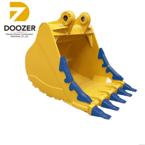 PC300 Excavator bucket,Heavy duty rock bucket crusher for excavator