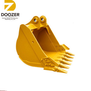 1.5 Volume C A T330,PC200 standard bucket excavator size drawing
