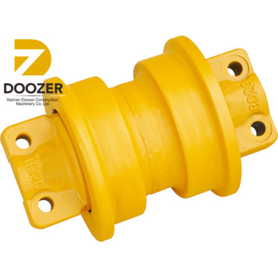 Yellow Mitsubishi BD2G bulldozer Spare Parts Track lower Roller/Bottom Track