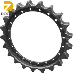 Professional EC200-5 Excavator Drive Sprocket/Chain And Sprocket