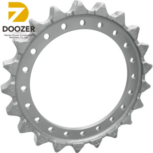 Finely Processed ZAX240 Chain Excavator Drive Sprocket for Hitachi
