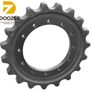 8 Years Manufacturer Of Durable SWE70 Chain Excavator Drive Sprocket