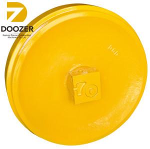 Japan brand D6/D6H bulldozer spare part idler/ front idler roller/idler