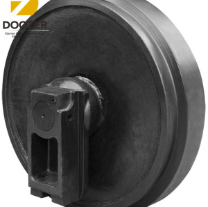 Factory Wholesale DH258/DH300  Excavator Front Track Idler for Daewoo