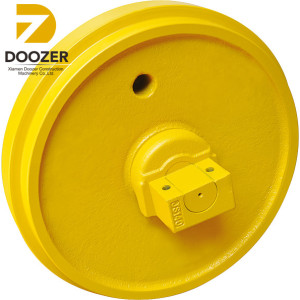 High Precise JS140/JS200 Construction Machinery Parts Front Idler for Excavator