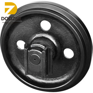 High Quality KH040 Construction Machinery Parts Front Idler Wheel for Excavator
