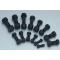 40Cr material 12.9 grade excavator and bulldozer track shoe bolt& nut,  High hardness segment bolt & nut, plow bolt and nut