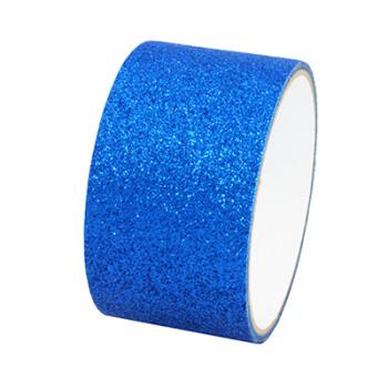 Pressure sensitive glitter paper tape