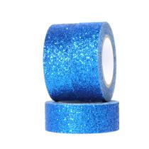 Popular self adhesive DIY book glitter tape