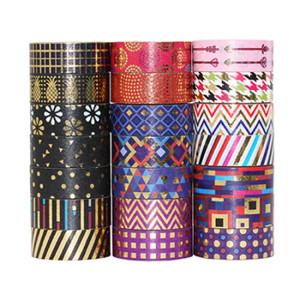 Golding patterns washi tapes