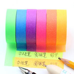 Fluorescent washi tape