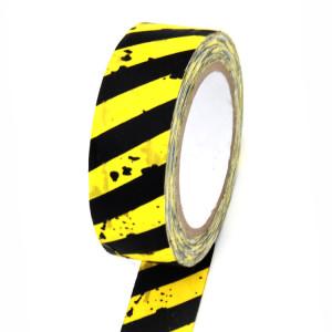 Warning use cloth tape