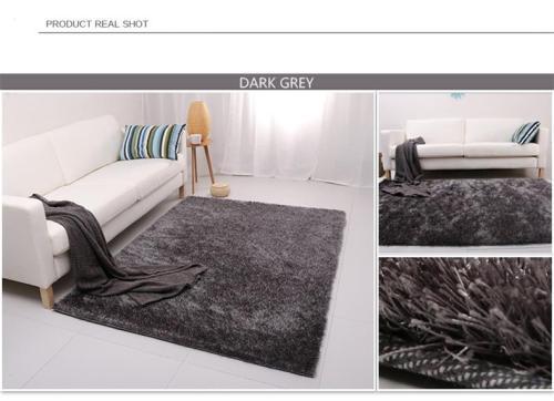 Hot sale Polyester Long Pile Shaggy Carpet for living