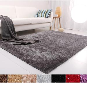 Hot sale Polyester Long Pile Shaggy Carpet for living