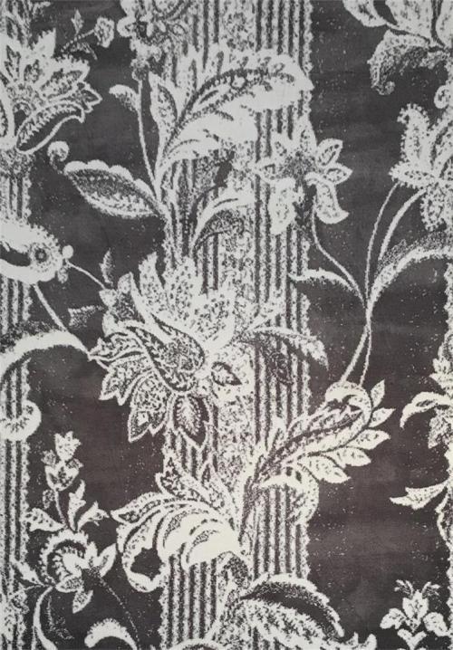 Modern Microfiber Jacquard Shaggy Carpet and Rug