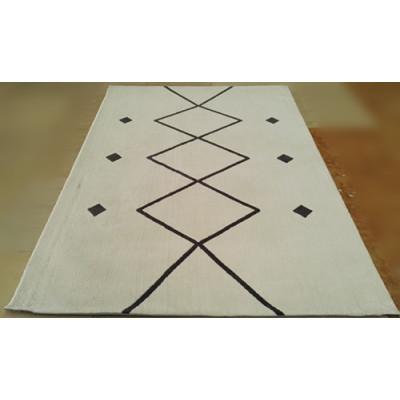 High Quality Modern Microfiber Jacquard plain Rugs