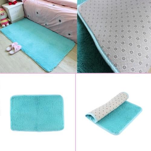 Fashion Shag Carpet Beige Rug for Living Room And Bedroom Soft Carpet