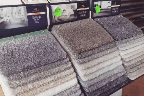 Home Style Soft Material Polyester Shaggy Carpets and Rugs