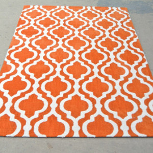 Hot Sale Microfiber Jacquard Area Rugs Wholesale