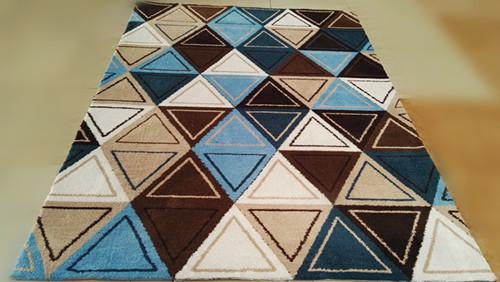 Decorative Digital Printed Washable Microfiber  Jacquard Carpet
