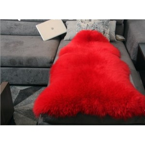 OEM service artificial sheepskin polyester shaggy fur carpet/ rug designs