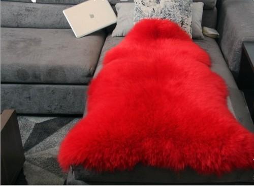 OEM service artificial sheepskin polyester shaggy fur carpet/ rug designs