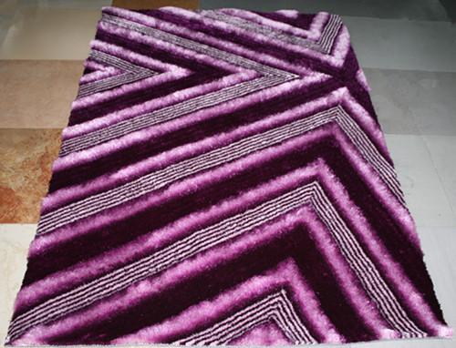 3D modern design polyester home decor shaggy carpet and rug