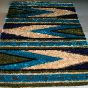 Bottom Price Underlay 1200D Silk Polyester Carpet from China, Area Rug