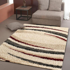 Long pile shaggy ployester microfiber carpet