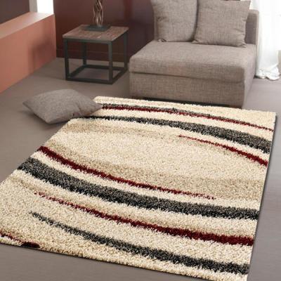 Long pile shaggy ployester microfiber carpet