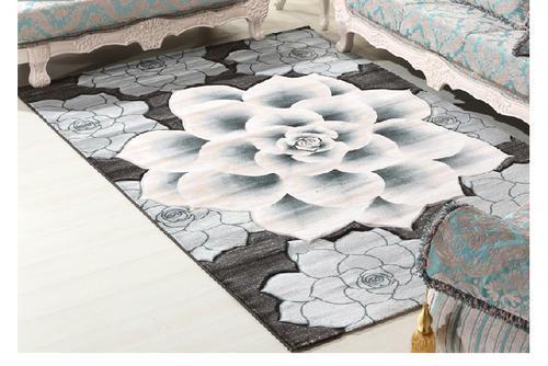 Modern New Design 100% Polyester Jacquard Carpets