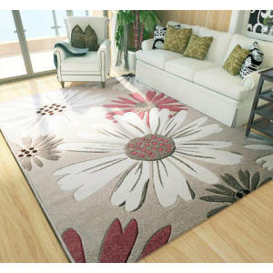 Hot Selling Microfiber 100% Polyester Jacquard Carpets